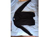 Henry Lloyd Jeans Black Cardigan Large