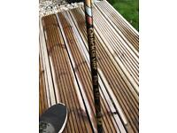 Fly fishing rod and reel with line