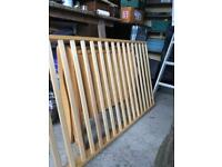 Toddler sleigh bed
