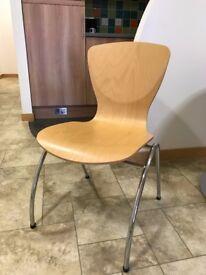 Wooden Bistro/Breakout Chairs
