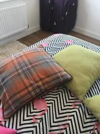 4 NEXT cushions size 50cm x 50cm