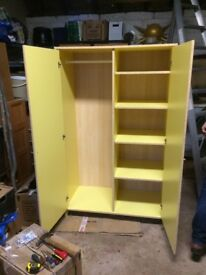 Small 2 door wardrobe