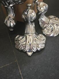 Chrome claw & ball feet