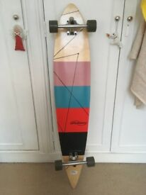 "Once used 40"" longboard for £25"