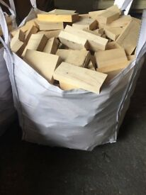 Wood offcuts in tonne bags for sale