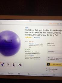 Brand new gym ball