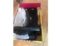 Brand new Joules wellies size 5