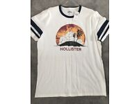 Brand new hollister tshirt size XL