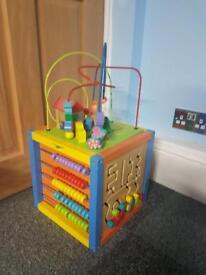 Kids activity cube