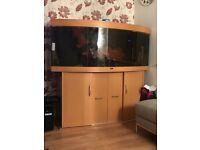 Jewel Bowfront 450 fish tank