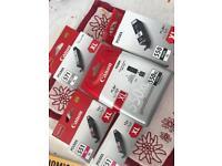 5 NEW PIXMA cartridges