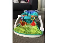 Fisher Price frog baby sit-me-up floor seat