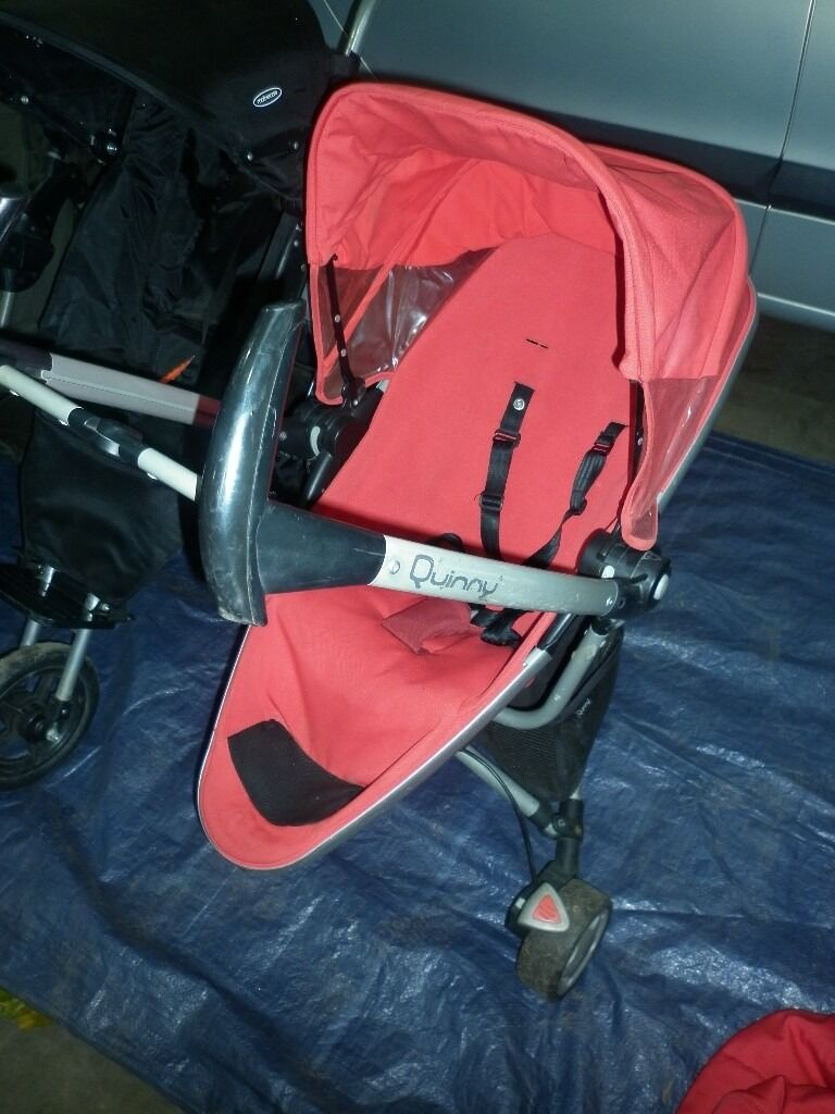 QUINNY ZAPP EXTRAin Rugby, WarwickshireGumtree - Lovely red Zapp Extra. Forward or parent facing comes with Matching Quinny Igloo footmuff (Cost £60 new) Original Raincover Shopping basket. Collection Rugby Warwickshire NO COURIERS NO PAYPAL