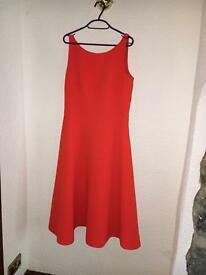 J by Jasper Conran Orange summer dress Size 14