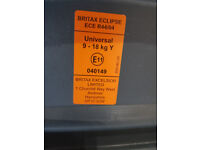 Britax Eclipse Car Seat universal 9-18Kg used by my grandchild