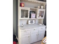 shabby chic dresser in winter grey chalk paint