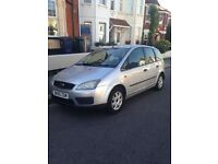 Ford focus c-max 1.6 55 reg mot and tax full service history very good condition