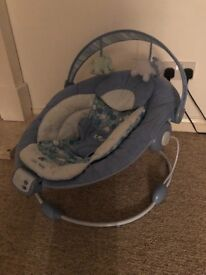 Baby bouncer by bright starts