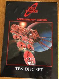 Red Dwarf Ten Disc Set