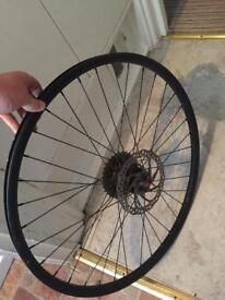 27.5 inch rear disk wheel
