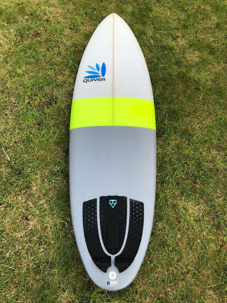 "b2ffe82614 6'6"" Quiver Spud Surfboard with FCS GMB 5 Performance Core Fins 