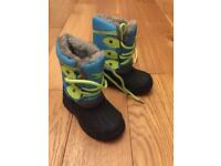 Infant snow boots in new condition