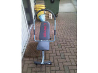 AB Fitness Maschine by AB Magic good condition hardly used 3 feet tall, 4 feet long, 2 feet wide