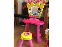 Peppa pig mirror and stool