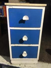 Retro small chest drawers FREE DELIVERY PLYMOUTH AREA