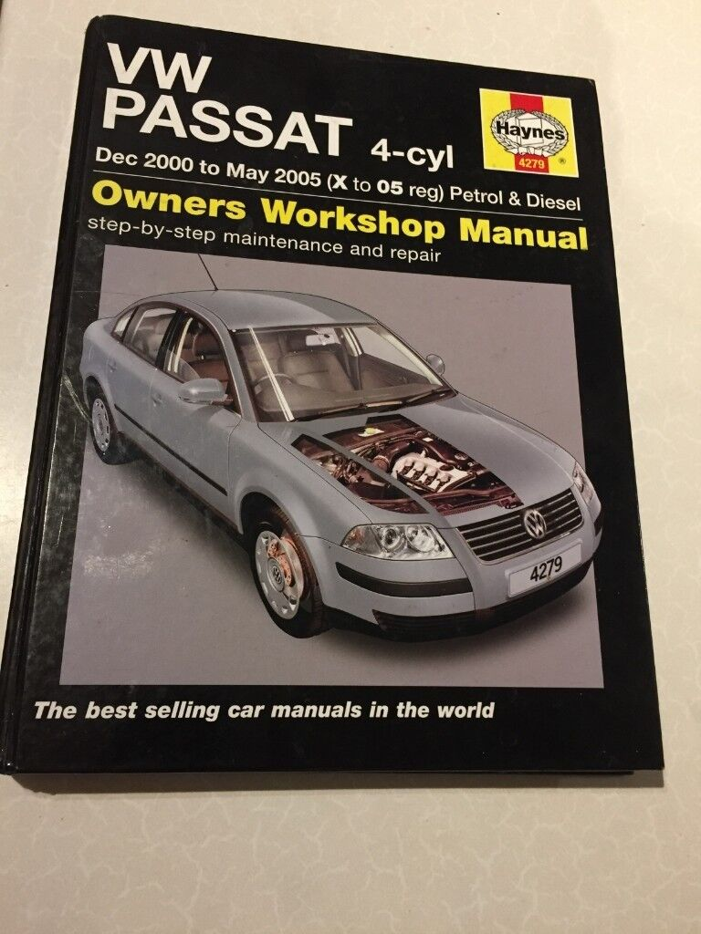 00 vw passat owners manual