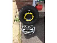 Seat Ibiza full size Spare wheel and brace kit