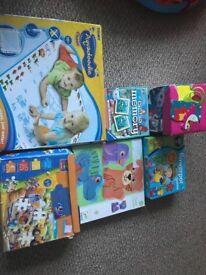 Bundle of puzzles/jigsaws/aquadoodle