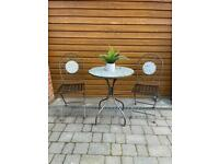 Garden Table and Chairs.Bistro set. Garden furniture. Patio set