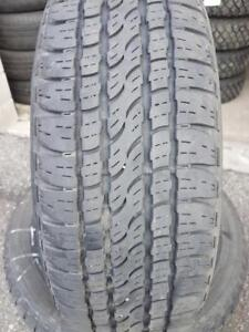 4 PNEUS ETE - FIRESTONE 225 65 17 - 4 SUMMER TIRES
