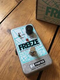 EHX Freeze Pedal