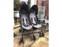 Twin Stroller - Nearly New :)