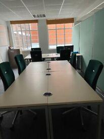 Hot Desking/Desk space available City Centre Birmingham