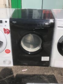 BUSH 7KG VENTED TUMBLE DRYER IN BLACK
