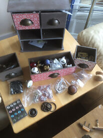 Shabby Chic Drawer Knobs & Bits (new & used)