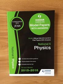National 5 Physics Model papers & SQA past papers