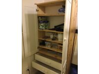 Ikea storage cabinet with 2 drawers ( like new )