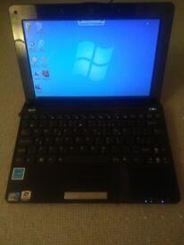 """Asus Eee PC 1005PE 10.1"""" Netbook 250GB WebCam WiFi Windows 7 including MS Office"""