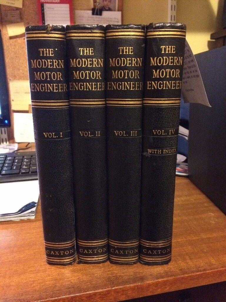 The Modern Motor Engineer Volumes 1 - 4