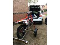 Dave Cooper Collapsable Motorbike/Motocross Trailer