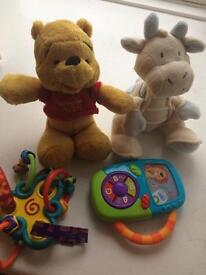Bag of baby toys £8