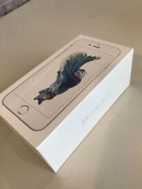 BRAND NEW iphone 6s silver UNOPENED 32GB