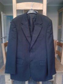 "Gent's designer jacket size 40"" chest (charcoal grey)"