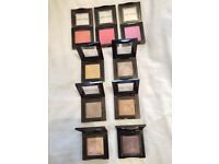 Bobbi brown make up x3 blushers x6 eye shadows. Used.