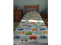 Vehicle Bedding Set with Curtains