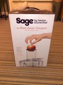 Sage Nutri Juicer Compact Brand New